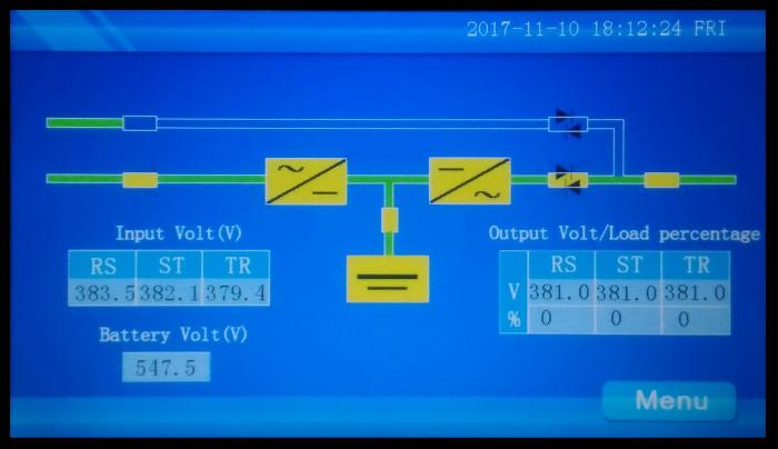 LCD Display Main ИБП P-Com Multi-Pro D6033